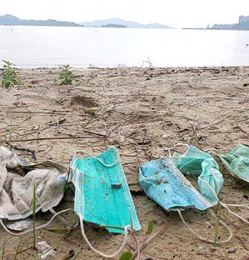 1,5 Miliar Masker Wajah Jadi Pencemar Lautan Sepanjang 2020